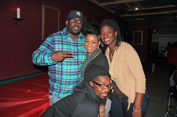 Tay, Michelle , Syisha and Ant 12.8.14