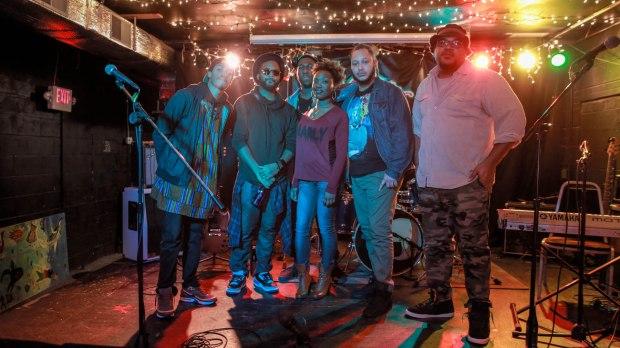 Hazie Blu Collective (The Bul Bey, Code9ine, Tony Mac, Tiffany MoniQ, Que Musik and Wil Bond)