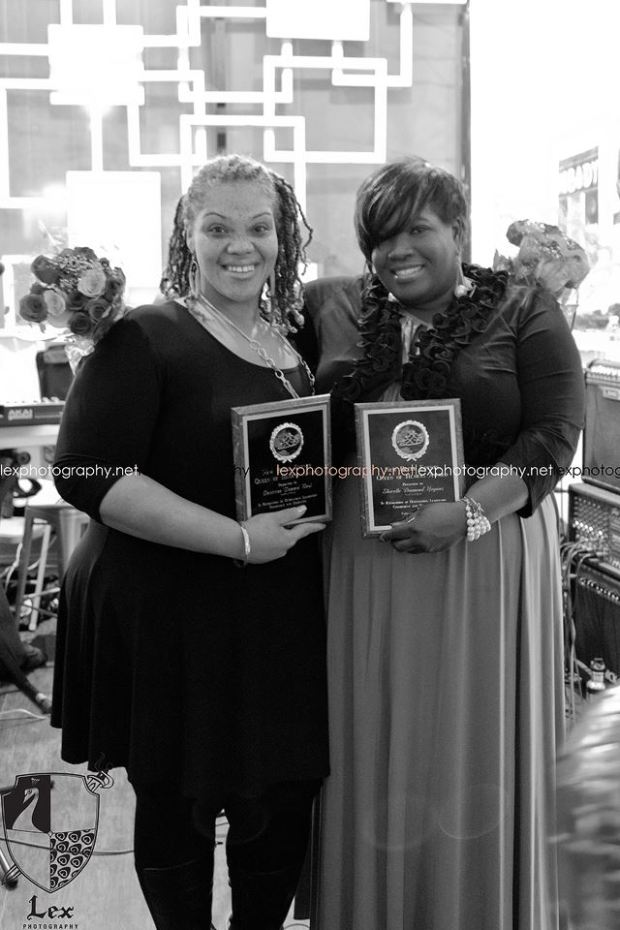 """Honorees : Desiree 'Dezzie"""" Neal and Shirelle  'Diamond' Hogans (Lexphotography.net)"""
