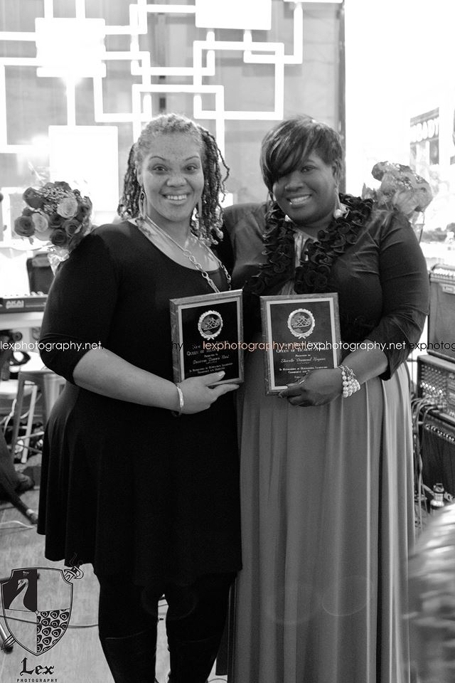 "Honorees : Desiree 'Dezzie"" Neal and Shirelle  'Diamond' Hogans (Lexphotography.net)"